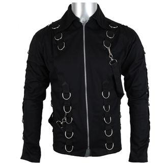 camicia uomo Aderlass - Cuspide Cardy Denim Nero, ADERLASS