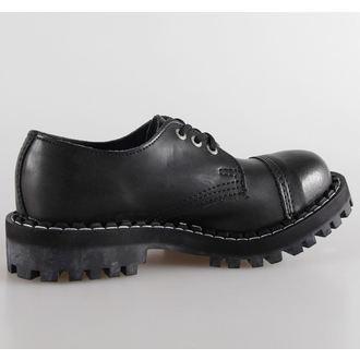 stivali in pelle donna - STEEL - 101/102 Black
