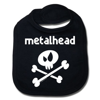 bavaglino metalhead - black - Metal-Kids, Metal-Kids