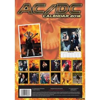 Calendario a anno 2018  AC  /  DC , AC-DC