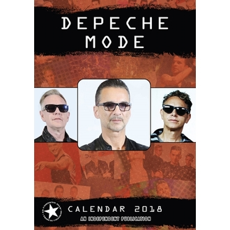 Calendario a anno 2018 DEPECHE MODE, Depeche Mode