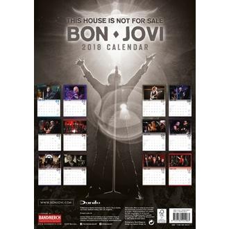 Calendario 2018 BON JOVI, Bon Jovi