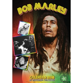 Calendario a anno 2018 BOB MARLEY, Bob Marley