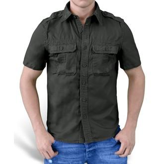 camicia SURPLUS - 1/2 Vintage Shirt - Nero, SURPLUS