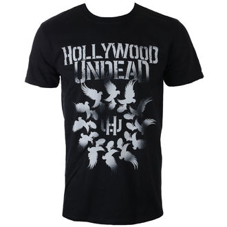t-shirt metal uomo Hollywood Undead - DOVE GRENADE SPIRAL - PLASTIC HEAD, PLASTIC HEAD, Hollywood Undead