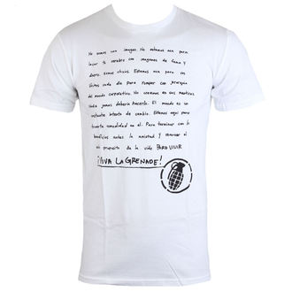 t-shirt street uomo - Manifesto Espanol - GRENADE, GRENADE