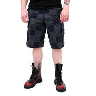 pantaloncini uomo SURPLUS - Checkboard - BLU, SURPLUS