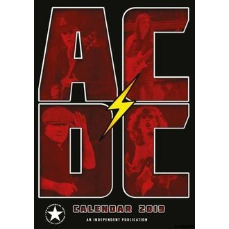 Calendario per anno 2019 -  AC  /  DC , NNM, AC-DC