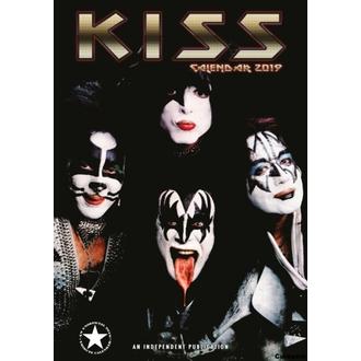 Calendario per anno 2019 - KISS, NNM, Kiss