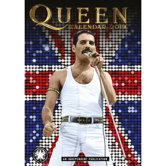 Calendario per anno 2019 - QUEEN, NNM, Queen