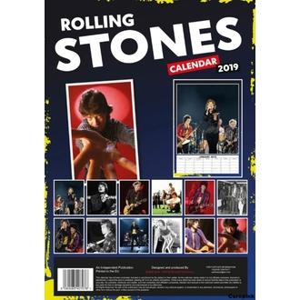 Calendario per anno 2019 - Rolling Stones, NNM, Rolling Stones