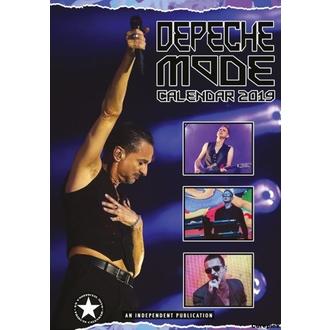 Calendario per anno 2019 - Depeche Mode, NNM, Depeche Mode