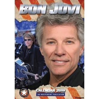 Calendario per anno 2019 - Bon Jovi, NNM, Bon Jovi
