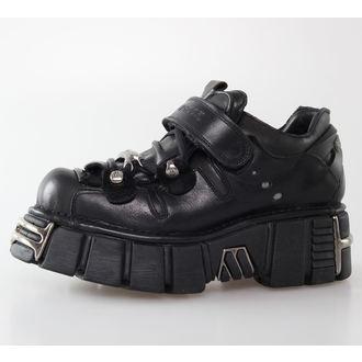 stivali in pelle - Bolt Shoes (131-S1) Black - NEW ROCK, NEW ROCK