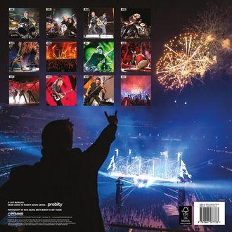 Calendario a parete 2018 METALLICA, Metallica