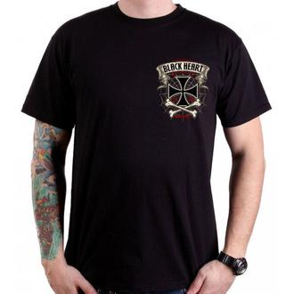 t-shirt street uomo - CRUSTY DEMONS - BLACK HEART, BLACK HEART
