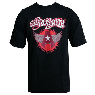 t-shirt metal Aerosmith - Flying A Logo - HYBRIS, HYBRIS, Aerosmith