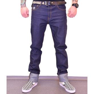 pantaloni Uomo BLACK HEART - HOT ROD JEANS, BLACK HEART