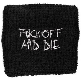 polsino Darkthrone - Fuck Off e Die - WB154, RAZAMATAZ, Darkthrone