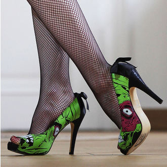 scarpe con il tacco donna - Zombie Stomper Platform - IRON FIST, IRON FIST