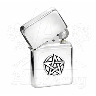 accendino Pentagram Benzina Accendino AAZ3, ALCHEMY GOTHIC