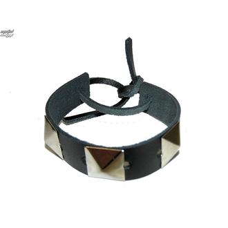 bracciale Pyramidy 1, BLACK & METAL