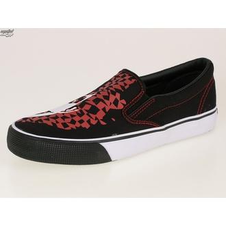 scarpe da ginnastica basse uomo Adicts - Adicts Jester Slip On - DRAVEN - MCAD 005 - BLK, DRAVEN, Adicts