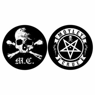 Giradischi pad impostato 2pcs) Mötley Crüe - TESCHIO & PENTAGRAM - RAZAMATAZ, RAZAMATAZ, Mötley Crüe