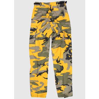 pantaloni uomo US BDU - Army - YELLOW VERDE CAMO - 200500, BOOTS & BRACES