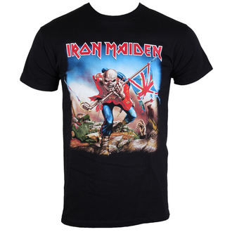 t-shirt metal uomo Iron Maiden - The Trooper - ROCK OFF - IMTEE03MB