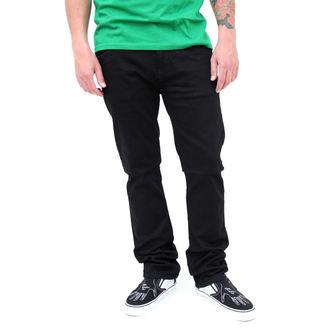 pantaloni uomo (jeans) VANS - Skinny Overdye PP - BLACK, VANS