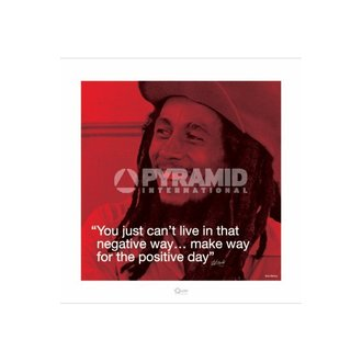 poster Bob Marley (I.Quote - Positivo Day) - Pyramid Posters, PYRAMID POSTERS, Bob Marley
