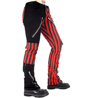 pantaloni uomo Nero Pistol - Mostro Pantaloni Stripe (Nero/Rosso) - B-1-21-319-04