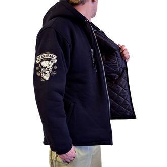 giacca primaverile / autunnale - DEVIL SKULL LINED - BLACK HEART