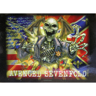 bandiera Avenged Sevenfold - Confederate, HEART ROCK, Avenged Sevenfold