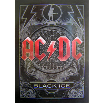 bandiera AC-DC 'Black Ice' HFL 0979, HEART ROCK, AC-DC