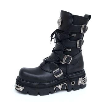 stivali in pelle - Basic Boots (373-S4) Black - NEW ROCK, NEW ROCK
