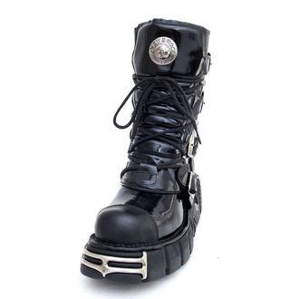 stivali in pelle - Bizarre Boots (313-S1) Black - NEW ROCK, NEW ROCK
