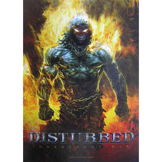 bandiera Disturbed 'Indistruttibile' HFL 1022, HEART ROCK, Disturbed