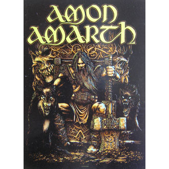 bandiera Amon Amarth HFL 1027, HEART ROCK, Amon Amarth