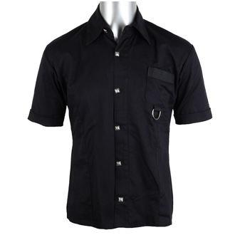 camicia uomo Aderlass - Ring Shirt Denim Nero, ADERLASS