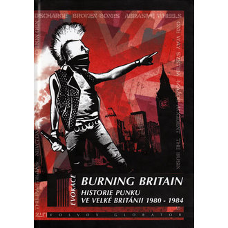 Libro Burning Britain, Punk