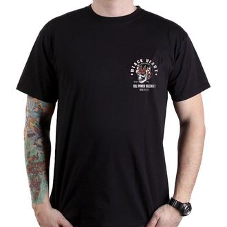 t-shirt street uomo - FULL POWER - BLACK HEART, BLACK HEART