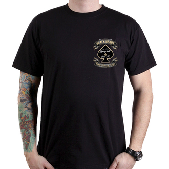 t-shirt street uomo - JAWA BOBBER - BLACK HEART, BLACK HEART