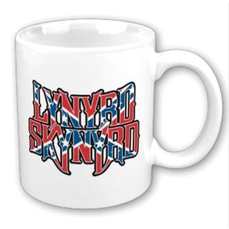 tazza Lynyrd Skynyrd - Confederate logo WHT, ROCK OFF, Lynyrd Skynyrd