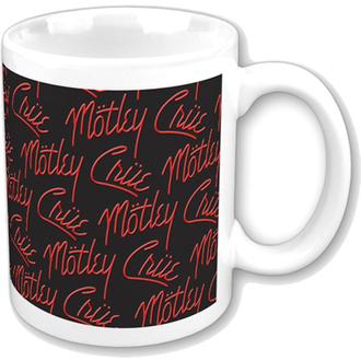 tazza Mötley Crüe - Logos, ROCK OFF, Mötley Crüe
