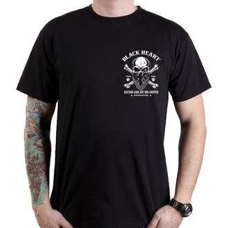 t-shirt street uomo - ROBBER - BLACK HEART, BLACK HEART
