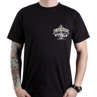 t-shirt street uomo - HOT ROD BELL - BLACK HEART, BLACK HEART