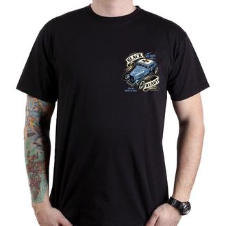 t-shirt street uomo - HOT ROD BRUISER - BLACK HEART, BLACK HEART