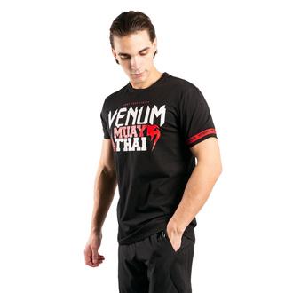 Maglietta da uomo Venum - MUAY THAI Classic 20 - Nero / Rosso, VENUM